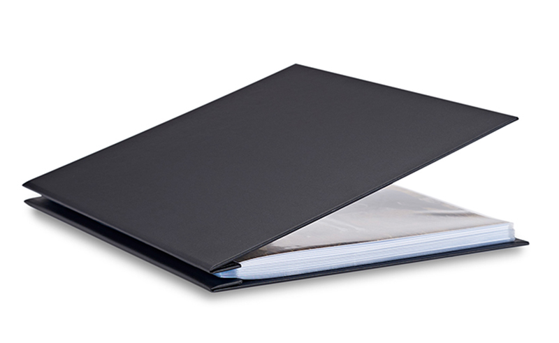 Bex 14X11 Presentation Book Black