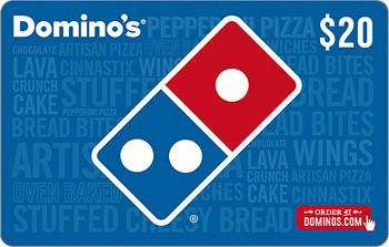 Domino's Gift Card $20