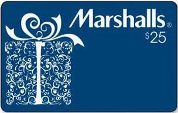 Marshalls Gift Card 25 Jefferson Campus Store