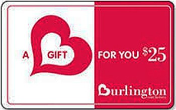 Burlington Gift Card $25