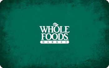 Whole Foods Gift Card $25