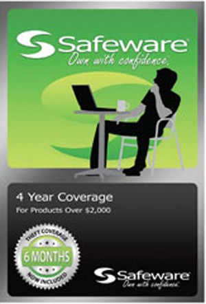 Safeware 4Yr Warranty Over $2000