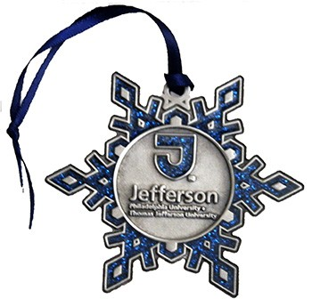 Jefferson Pewter Snowflake Ornament