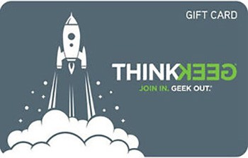 Thinkgeek Gift Card $25