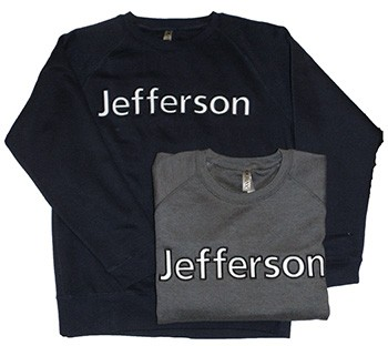 Jefferson Embroidered Crew
