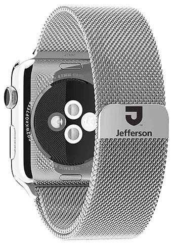 Apple Watch Band Tju 42Mm & 44Mm Steel Milanese Loop