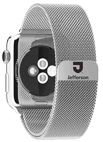 Apple Watch Band Tju 38Mm Steel Milanese Loop (SKU 104932051)