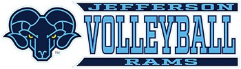 Decal Jefferson Volleyball