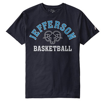 Jefferson Sports Tee Basketball