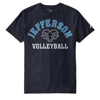 Jefferson Sports Tee Volleyball