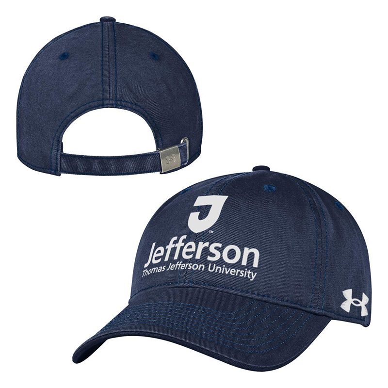 Garment Washed Under Armour Cap J Logo