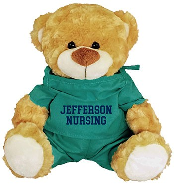 Nursing Scrubs Bear Fred
