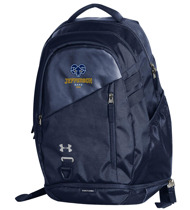 Ua Hustle 4.0 Backpack Midnight Navy