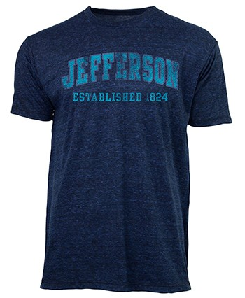 Indie Tee Arched Jefferson Est 1824