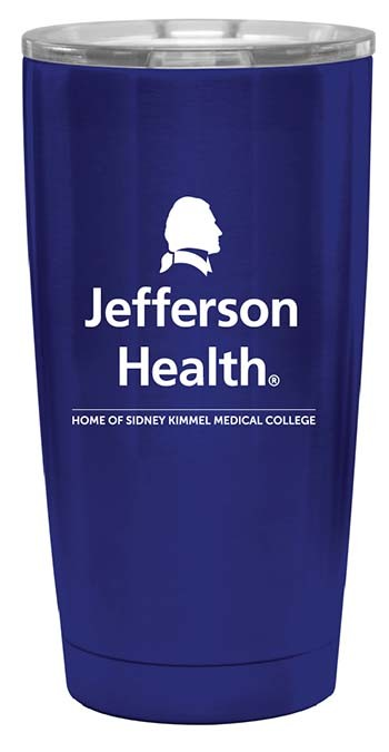 Xj Health Stainless Steel Tumbler 20Oz Blue