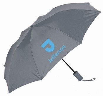Umbrella Deluxe Folding Cool Gray