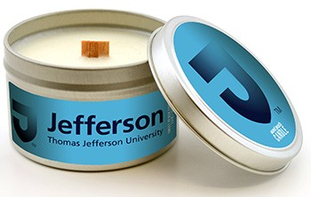 Candle Jefferson 5.8Oz Sweet Peach