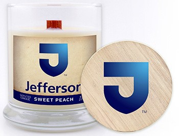 Candle Jefferson 8Oz Sweet Peach