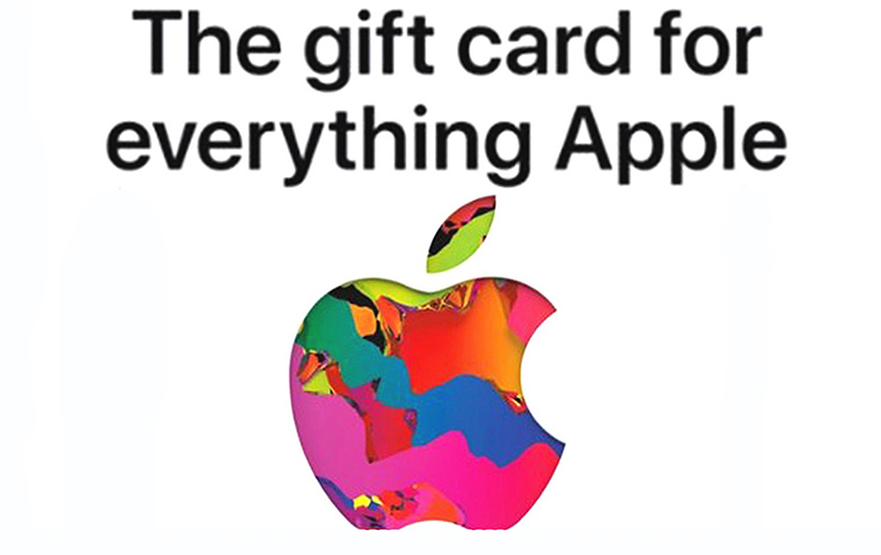 Apple Gift Card $25